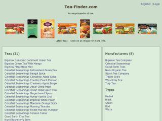 Tea Finder