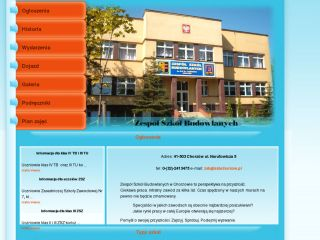 ZSB Chorzow - Local high school website