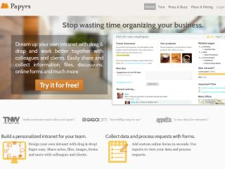Papyrs - Easy Wiki, Intranet & Document Management