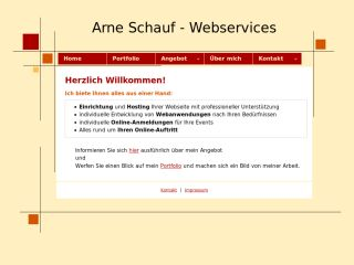 Arne Schauf Webservices