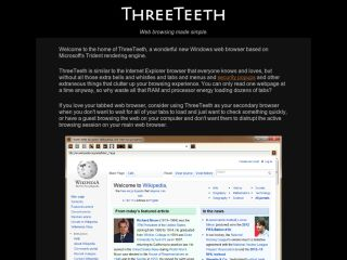 The ThreeTeeth Browser