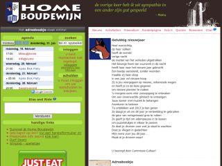 Home Boudewijn students website