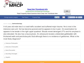 Revise MRCP