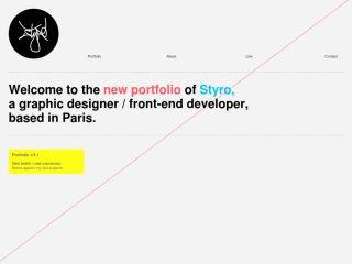 Portfolio of StYrO