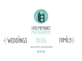 Photographer Site - Foto Memories