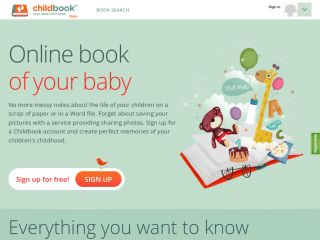 Childbook - Online book of your baby
