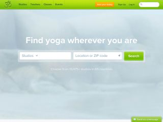 OM · Find yoga wherever you are. Yoga Studios · Yoga Teachers · Yoga Events