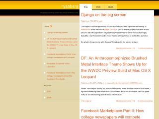 Ryan Berg's Blog