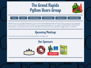 Grand Rapids Python Users Group