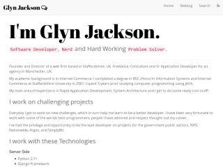 Blog: glynjackson.org