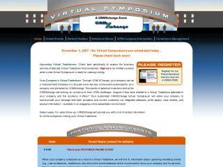 CRM Virtual Symposium