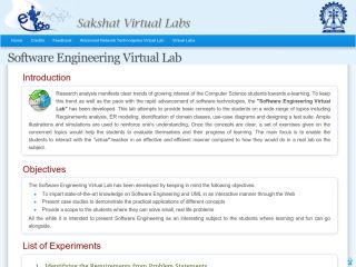 Software Engineering Virtual Lab