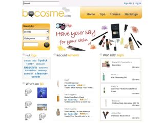 BeCosme Skin Care & Cosmetics Reviews