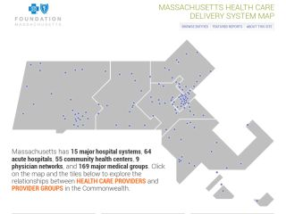 Massachussetts Health Care Delivery System Map
