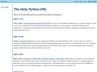 The Daily Python-URL
