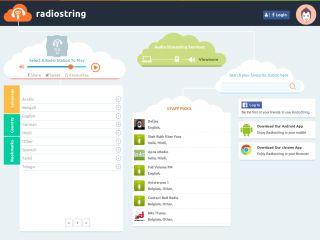 RadioString - Web Radio Aggregation