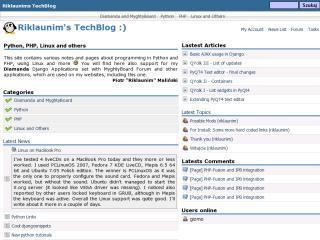 Riklaunims TechBlog
