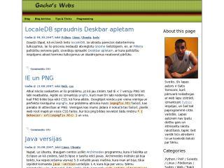 Gacha's web
