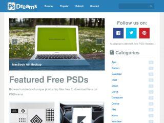 Free PSD Files at PSDreams