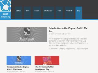 Indium Games Development Blog