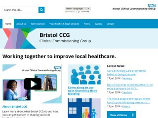 NHS Bristol Clinical Commissioning Group - CCG