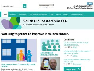 NHS South Gloucestershire Clinical Commissioning Group - CCG
