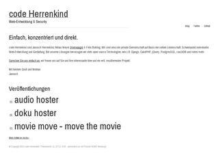 code Herrenkind