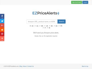 EZ Price Alerts - Amazon Price Tracker and Price Alerts