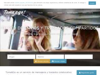 Toma&Go, collaborative shipping