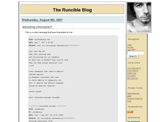 The Runcible Blog