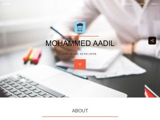 Mohammed Aadil - Software developer