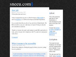 Sneeu.com