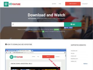 VDYoutube - Online Video Downloader For Youtube,vimeo Facebook