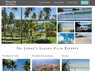 Villas in Sri Lanka