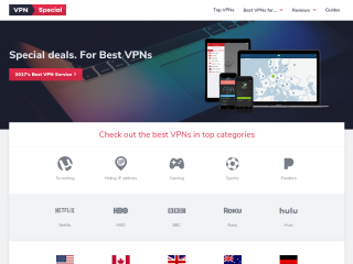 Top VPN reviews and comparisons
