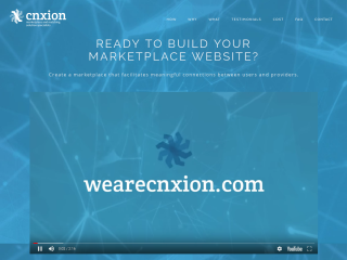 We Build Marketplace Websites | CNXION