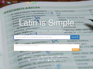 Latin is Simple