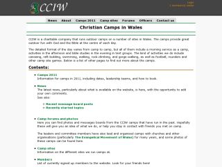 Christian Camps in Wales