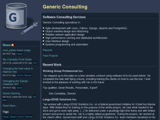 Generic Consulting