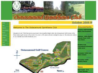 The Ootacamund Gymkhana Club